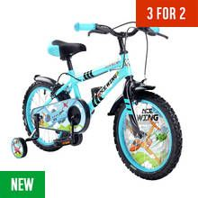 Pedal Pals 16 Inch Ace Wing Kids Bike and Accessories Set Best Price, Cheapest Prices