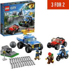 LEGO City Police Dirt Road Pursuit Toy Car - 60172 Best Price, Cheapest Prices