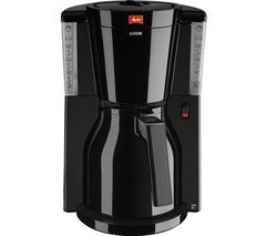 MELITTA Look IV Therm Filter Coffee Machine - Black Best Price, Cheapest Prices