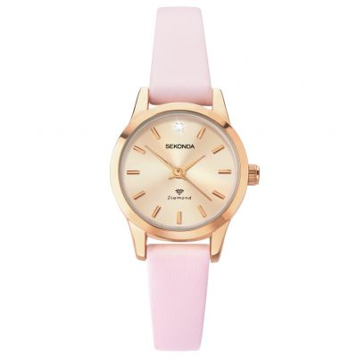 Sekonda Ladies Blush Pink Strap Watch Best Price, Cheapest Prices