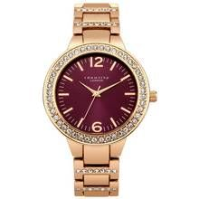 Identity London Ladies Stone Set Bezel Dial Bracelet Watch