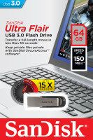 SanDisk Ultra Flair 64GB USB 3.0 Flash Drive Best Price, Cheapest Prices
