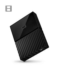 Western Digital My Passport 1TB Portable External Hard Drive - Black Best Price, Cheapest Prices