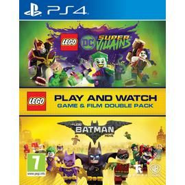 LEGO DC Villains PS4 Game & LEGO Batman Movie Double Pack Best Price, Cheapest Prices