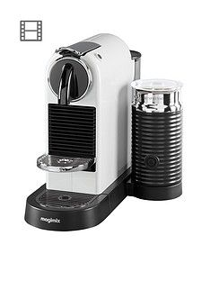 Nespresso Citiz &Amp; Milk Coffee Machine By Magimix - White Best Price, Cheapest Prices