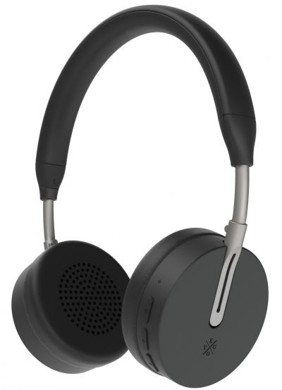 Kygo A6/500 On-Ear Wireless Headphones - Black Best Price, Cheapest Prices