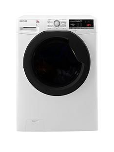 Hoover DXOA412AHFN Dynamic Next Premium 12kg Load, 1400 Spin Washing Machine with One Touch - White Best Price, Cheapest Prices