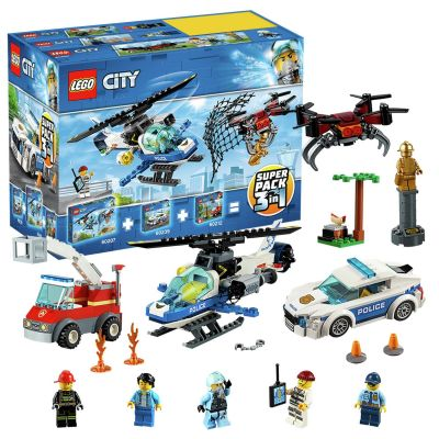 LEGO City Police 3 in 1 Super Pack - 66619 Best Price, Cheapest Prices