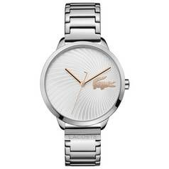 Lacoste White Dial Ladies Stainless Steel Watch Best Price, Cheapest Prices