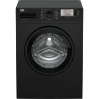 Beko WTG741M1B Excellence 7kg 1400rpm Freestanding Washing Machine - Black Best Price, Cheapest Prices