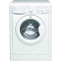 Indesit IWDC6143 EcoTime 6kg Wash 5kg Dry Freestanding Washer Dryer - White