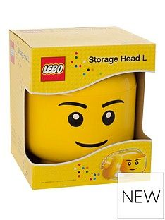 LEGO Storage Head – Boy Character Best Price, Cheapest Prices