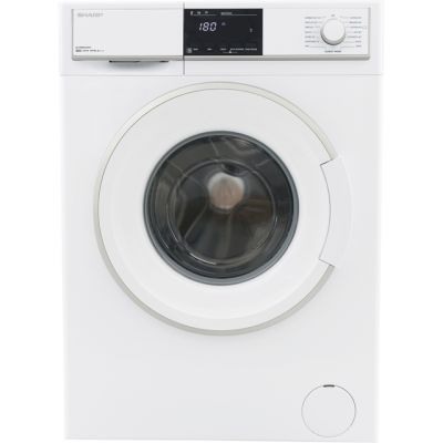 Sharp ES-HFB8143W3-EN 8Kg Washing Machine with 1400 rpm - White - A+++ Rated Best Price, Cheapest Prices