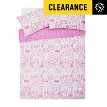HOME Pink Paisley Bedding Set - Kingsize Best Price, Cheapest Prices