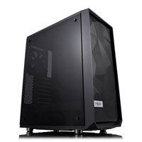 Fractal Design Meshify C TG Dark Tint, Mid Tower Computer Chassis, w/ Tempered Glass Window, ATX/mATX/mITX, 2x120mm Fans Best Price, Cheapest Prices