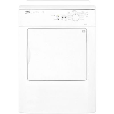 Beko DRVS62W 6Kg Vented Tumble Dryer - White - C Rated Best Price, Cheapest Prices