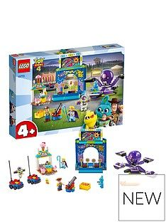 LEGO Juniors 10770 Toy Story 4 Funfair Playset Best Price, Cheapest Prices