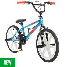 Piranha Skid Row 20 Inch Retro BMX Bike Best Price, Cheapest Prices