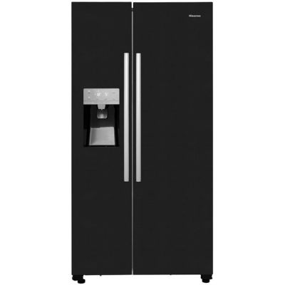 Hisense RS696N4IB1 American Fridge Freezer - Black - A+ Rated Best Price, Cheapest Prices