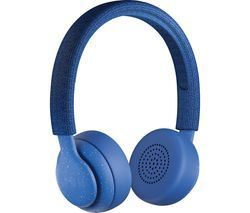JAM Been There HX-HP202BL Wireless Bluetooth Headphones - Blue Best Price, Cheapest Prices