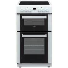 Bush DHBEDC50W Double Electric Cooker - White Best Price, Cheapest Prices