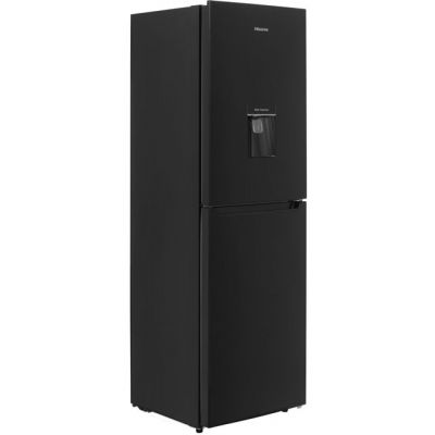 Hisense RB320D4WB1 50/50 Fridge Freezer - Black - A+ Rated Best Price, Cheapest Prices