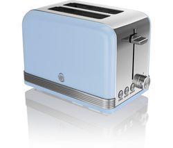 SWAN ST19010BLN2-Slice Toaster - Blue Best Price, Cheapest Prices