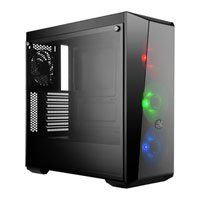 Cooler Master MasterBox Lite 5 RGB, Mid Tower PC Case, Tempered Glass Window, ATX/MicroATX/Mini-ITX, 3x 120mm RGB Fans Best Price, Cheapest Prices
