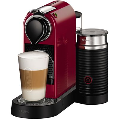 Nespresso by Krups Citiz & Milk XN761540 - Red Best Price, Cheapest Prices