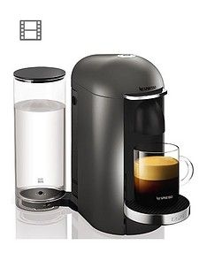 Nespresso Xn900T40 Vertuo Plus Coffee Machine By Krups - Titanium Best Price, Cheapest Prices