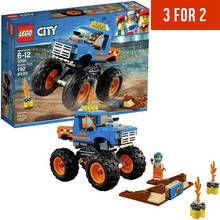 LEGO City Vehicles Monster Truck Toy - 60180 Best Price, Cheapest Prices