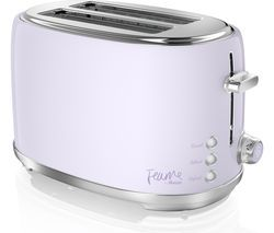 SWAN Fearne ST20010LYN 2-Slice Toaster - Lily Best Price, Cheapest Prices