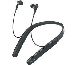 SONY WI-1000X Wireless Bluetooth Noise-Cancelling Headphones - Black Best Price, Cheapest Prices