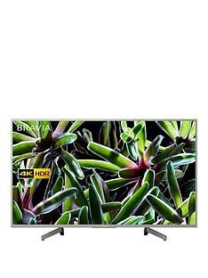 Sony BRAVIA KD43XG70, 43 inch, 4K Ultra HD, HDR Smart TV - Silver Best Price, Cheapest Prices