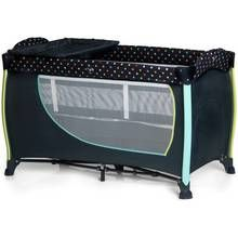 Hauck Sleep 'n' Play Center 2 Multidots Travel Cot Best Price, Cheapest Prices
