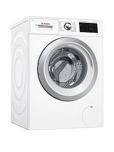 Bosch Serie 6 Wat286H0Gb 9Kg Load, 1400 Spin I-Dos Home Connect Washing Machine - White Best Price, Cheapest Prices