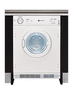 White Knight C8317 7kg Load Integrated Vented Tumble Dryer Best Price, Cheapest Prices