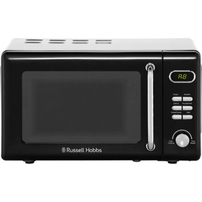 Russell Hobbs RHRETMD706B 17 Litre Microwave - Black Best Price, Cheapest Prices