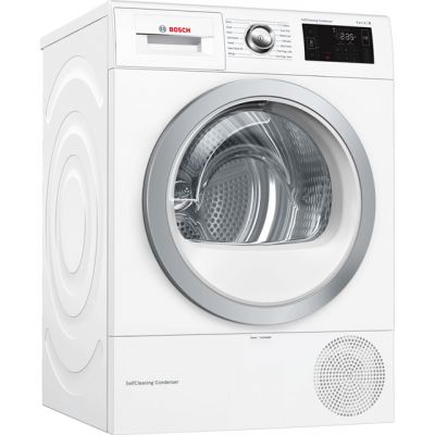 Bosch Serie 6 WTWH7660GB Wifi Connected 9Kg Heat Pump Tumble Dryer - White - A++ Rated Best Price, Cheapest Prices