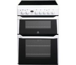 INDESIT ID60C2WS Electric Ceramic Cooker - White Best Price, Cheapest Prices