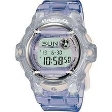 Casio Baby-G Ladies' Lilac LCD Watch Best Price, Cheapest Prices