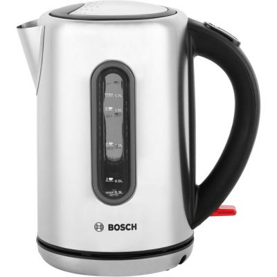 Bosch City TWK7901GB Kettle - Silver Best Price, Cheapest Prices