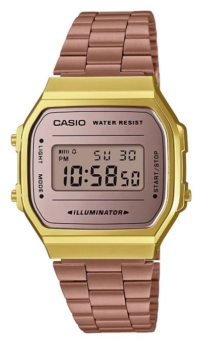 Casio Ladies Rose Gold Stainless Steel Bracelet Watch Best Price, Cheapest Prices