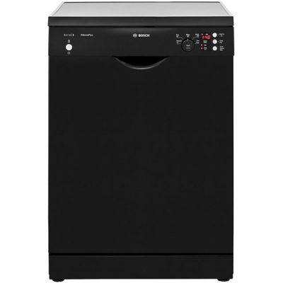 Bosch Serie 2 SMS25EB00G Standard Dishwasher - Black - A++ Rated