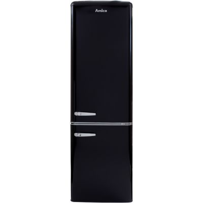 Amica FKR29653B 60/40 Fridge Freezer - Black - A+ Rated Best Price, Cheapest Prices