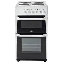 Indesit IT50EWS Single Electric Cooker - White Best Price, Cheapest Prices