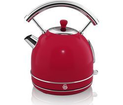 SWAN Retro SK34021RN Traditional Kettle - Red Best Price, Cheapest Prices