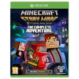 Minecraft: Story Mode Complete Edition Xbox One Game Best Price, Cheapest Prices