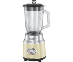 RUSSELL HOBBS Retro 25192 Blender - Cream Best Price, Cheapest Prices