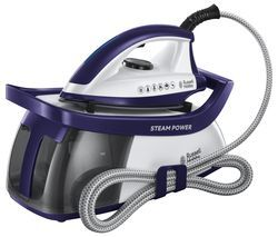 RUSSELL HOBBS Series 3 Steam Power 100 Steam Generator Iron - Purple Best Price, Cheapest Prices